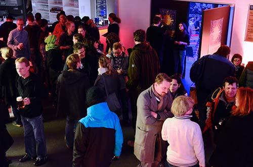 Das Foyer im ZENTRUM beim kontrast Filmfest