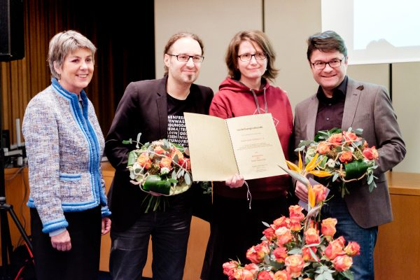 Verleihung des Kulturpreises der Stadt Bayreuth an den Bayreuther Filmfest e.V.