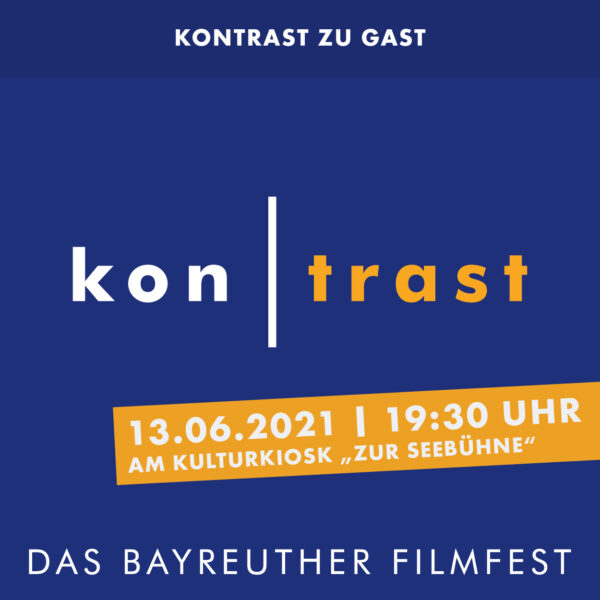 """kontrast zu Gast am Kulturkiosk """"zur Seebühne"""""""